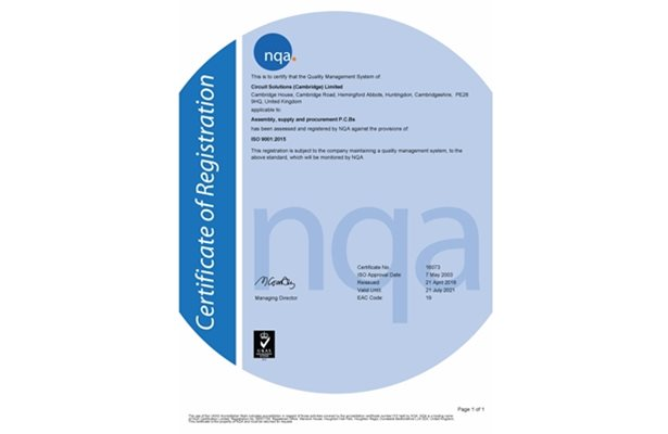 Quality & Accreditations