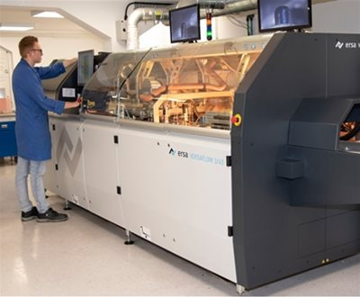 Ersa Selective wave soldering machine installed